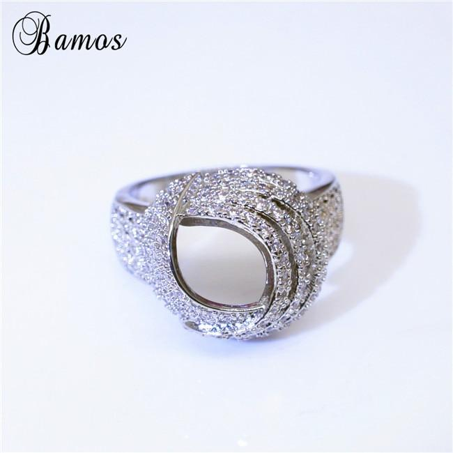 Gorgeous Hollow White CZ Ring