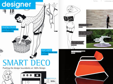 Dupenny is featured in Designer Magazine