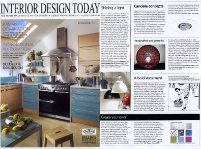 Dupenny is featured in Home Interiors Today