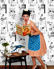 Load image into Gallery viewer, 50s Housewives - Wallpaper Samples