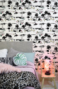 Aloha! fun tropical wallpaper by Dupenny