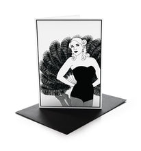 Load image into Gallery viewer, Burlesque Greeting Cards