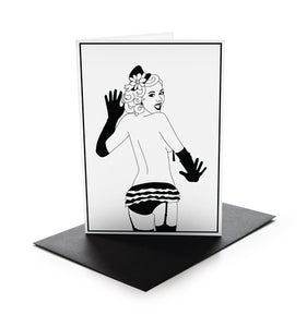 Burlesque Greeting Cards
