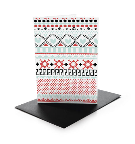 Knitwear Greeting Card