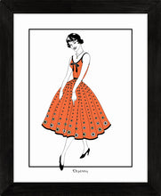 Load image into Gallery viewer, Vintage Dress (Colour) - Art Prints