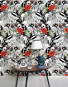 English Garden (Colour) - Wallpaper Samples