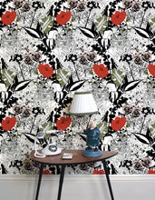 Load image into Gallery viewer, Original English Garden Wallpaper by Dupenny
