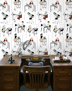 Office Etiquette - Wallpaper Samples