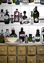 Load image into Gallery viewer, Potions (Colour) - Wallpaper Samples