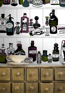Potions (Colour) - Wallpaper Samples