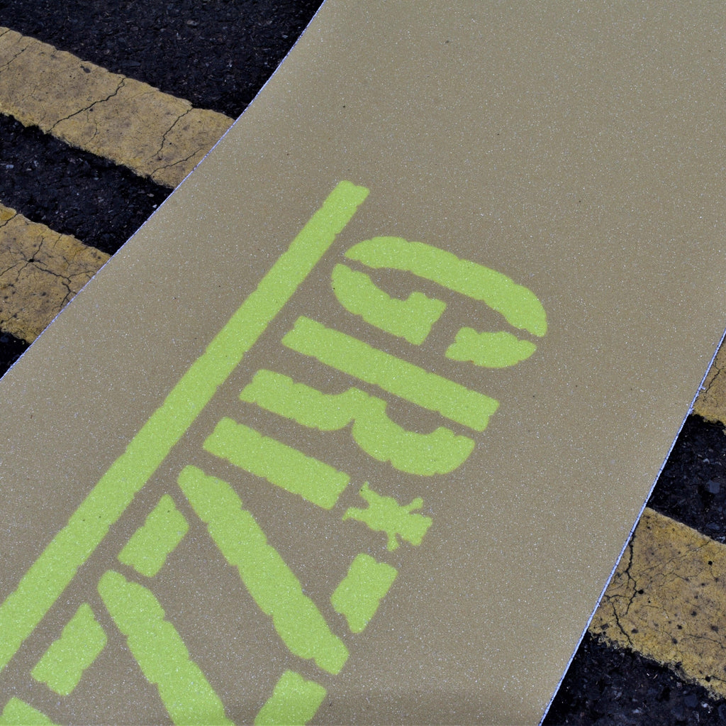 Grizzly - Sand/Yellow - 9'' - Grip Tape Sheet