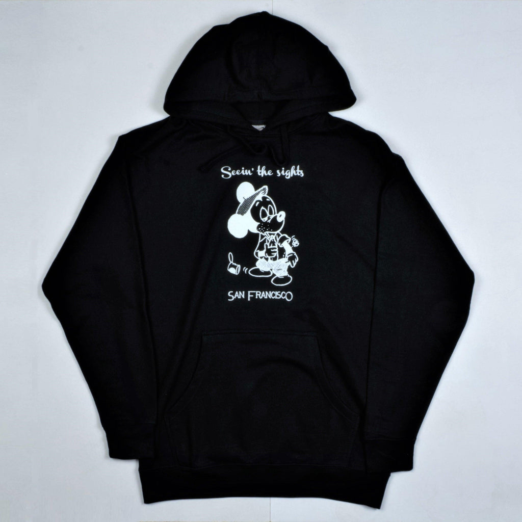 Snack Skateboards - Seeing The Sights Hoodie - Black
