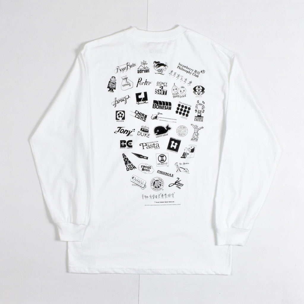 Snack Skateboards - Jamaica official - Long Sleeve Tee - White