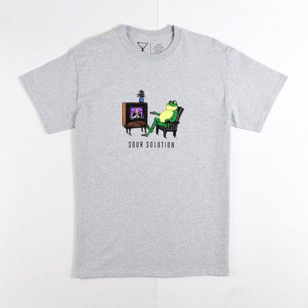 Sour Solution - Brain Gone - Tee - Grey