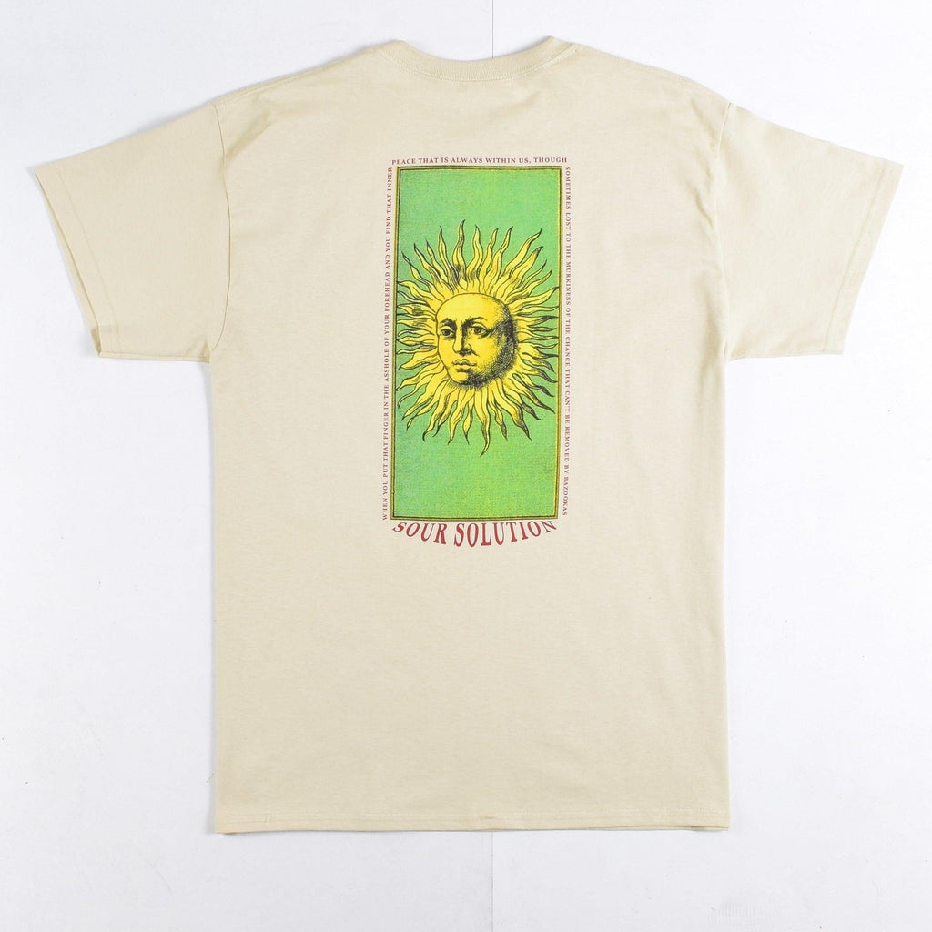 Sour Solution - Sun Poetry - Tee - Sour Cream