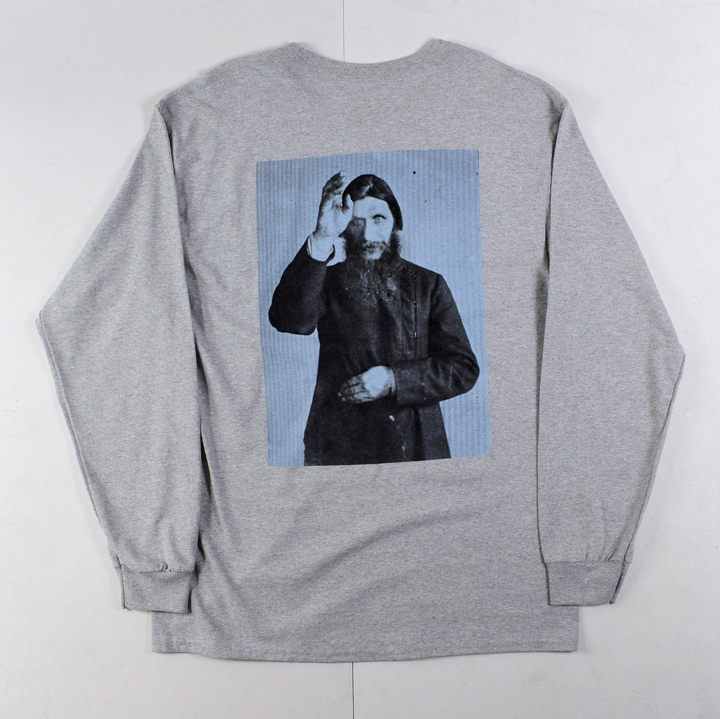 Theories - Rasputin - Long Sleeve - Marl Grey