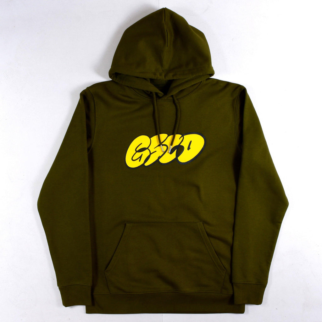 Grind Supply co - Organic Dub Logo - Hoodie - British Khaki