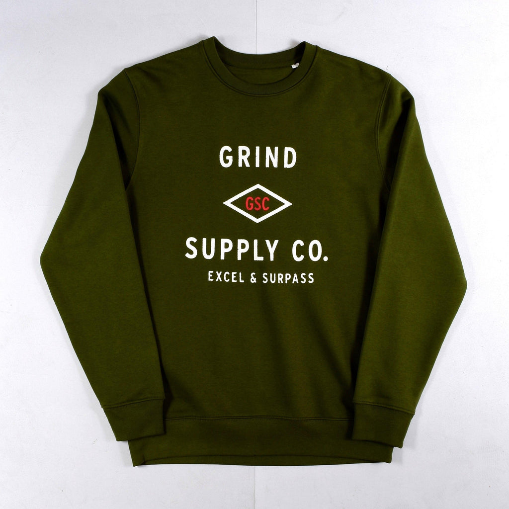 Grind Supply Co - Utility Sweat - British Khaki