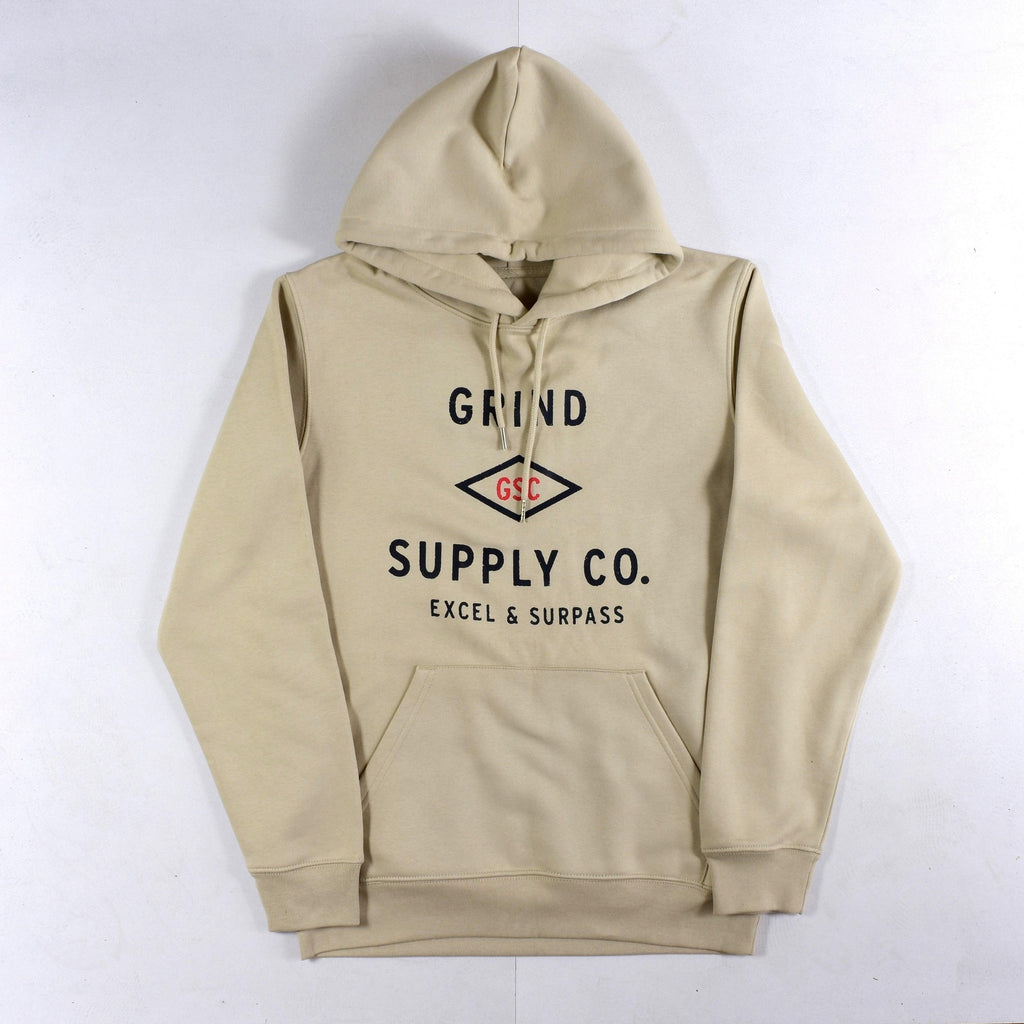 Grind Supply co Organic Utility Logo Hoodie
