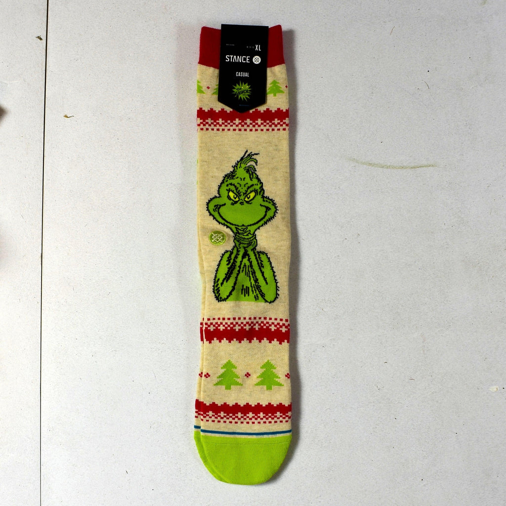 Stance Socks - the Grinch - Sweater - Casual Socks