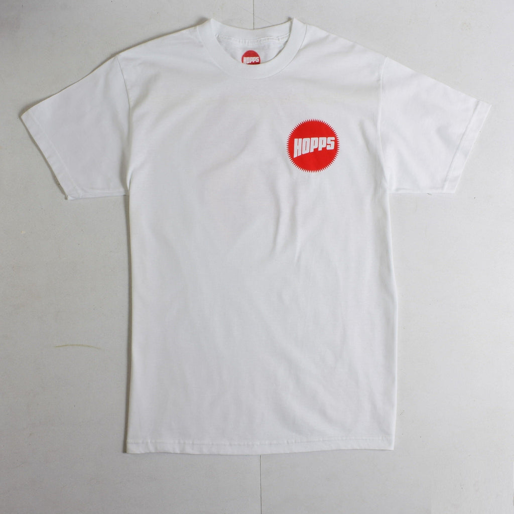 Hopps - Pirate - Heavyweight Cotton - Tee - White