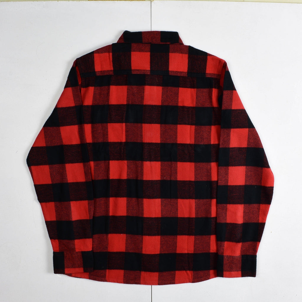 Dickies - Sacramento - Long Sleeve Flannel Shirt - Red & Black