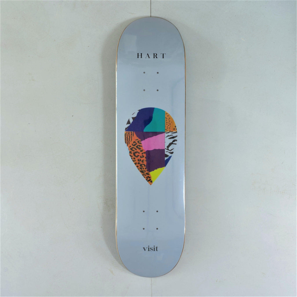 Visit - Kelly Hart - Scrap Logo Deck - 8.3 x 32.5