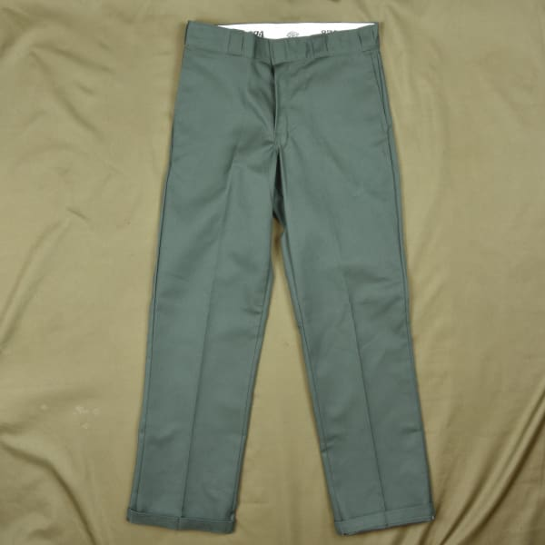 Dickies - 874 - O.g Work Pants - Olive Green - Grind Supply Co -[city]