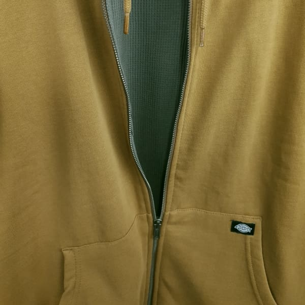 Dickies Kingsley Double Lined Hoodie Duck Brown - Apparel