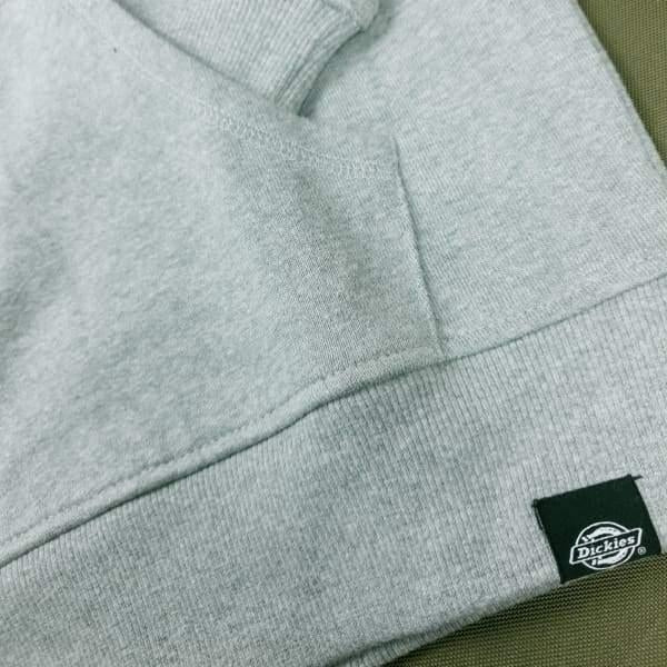 Dickies Kingsley Double Lined Hoodie Grey Melange - Apparel - Fast Shipping
