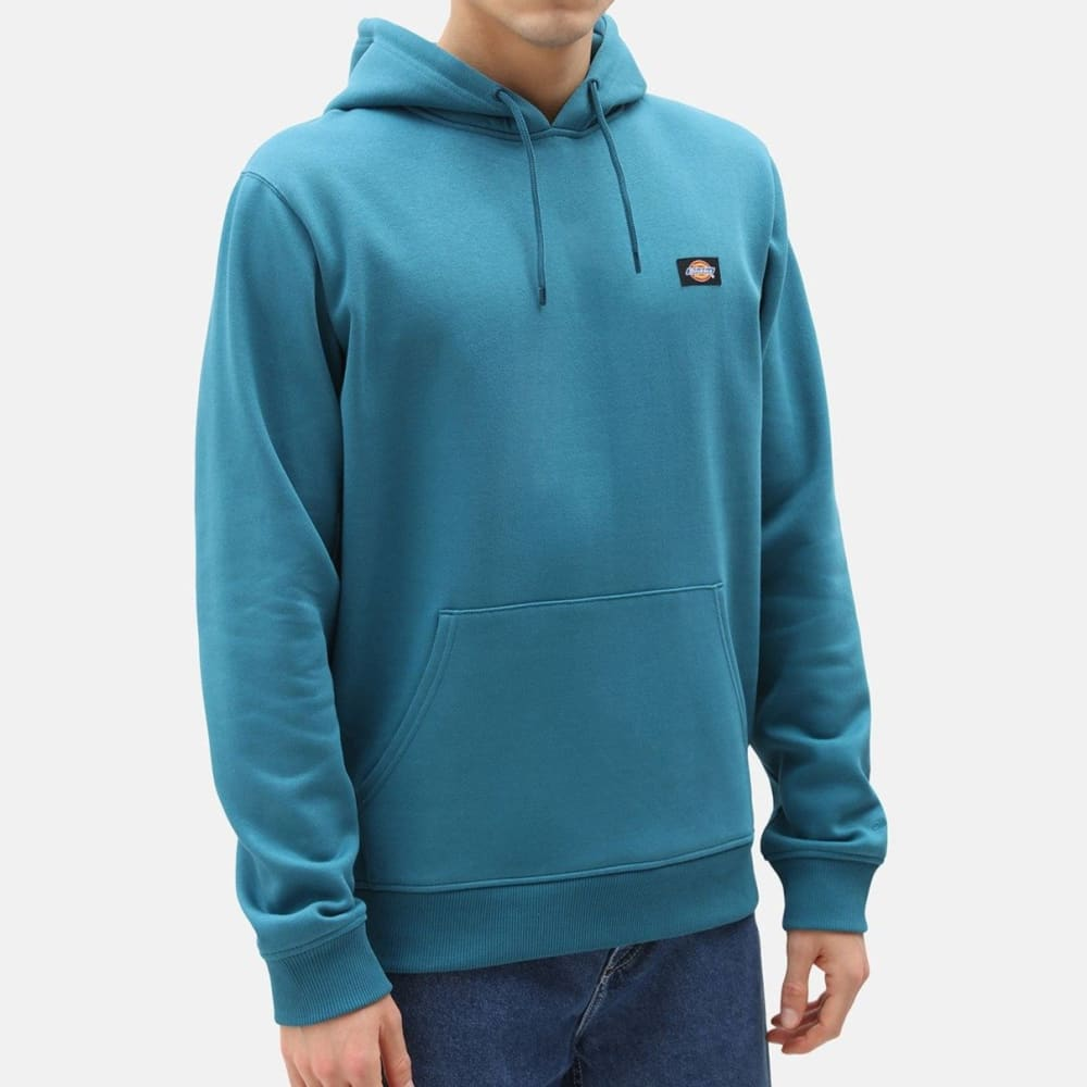 Dickies - Oklahoma - Fleece Lined Hoodie - Coral Blue - Apparel - Fast Shipping