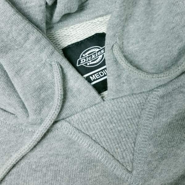 Dickies - Philadelphia - Knitted - Pull over Hoodie - Grey Melange - Grind Supply Co -[city]