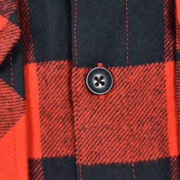 Dickies Sacramento Long Sleeve Flannel Shirt-red & Black - Grind Supply Co -[city]