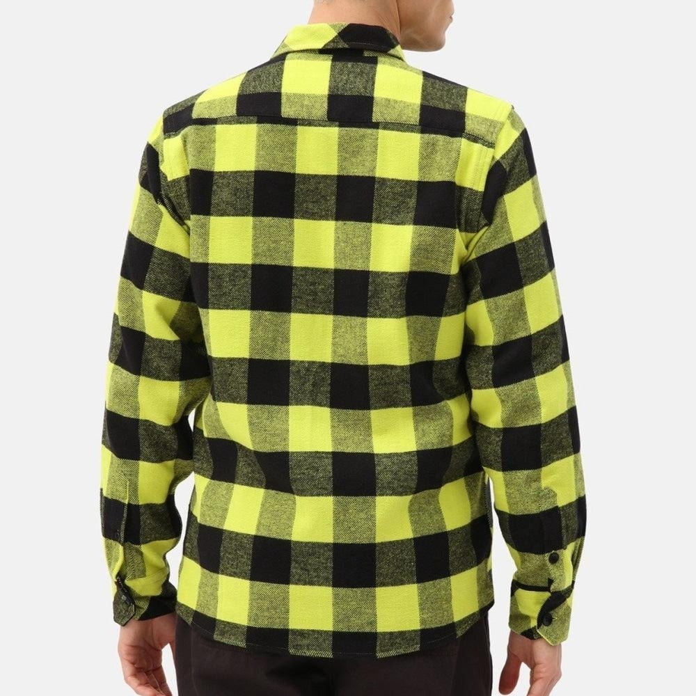 Dickies - Sacramento - Long Sleeve Flannel Shirt - Sulphur - Apparel - Fast Shipping