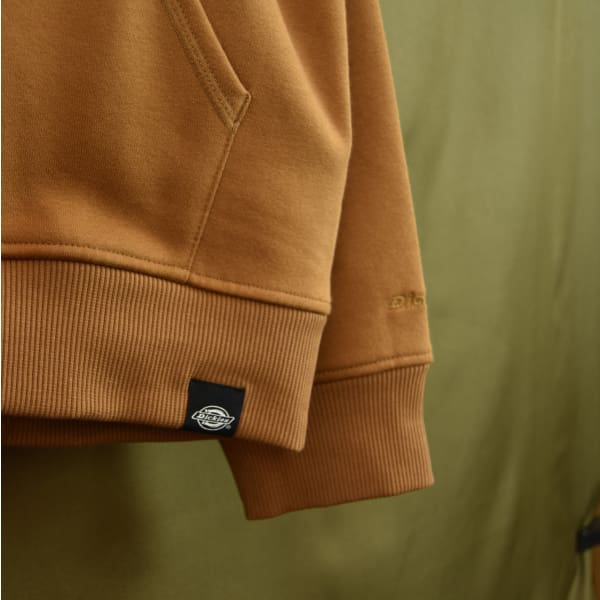 Dickies - San Antonio - Fleece Lined Hoodie - Duck Brown - Grind Supply Co -[city]
