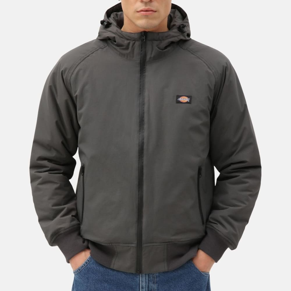 Dickies - Sarpy - Charcoal Grey - Flannel Lined - Waterproof Jacket - Jackets - Fast Shipping