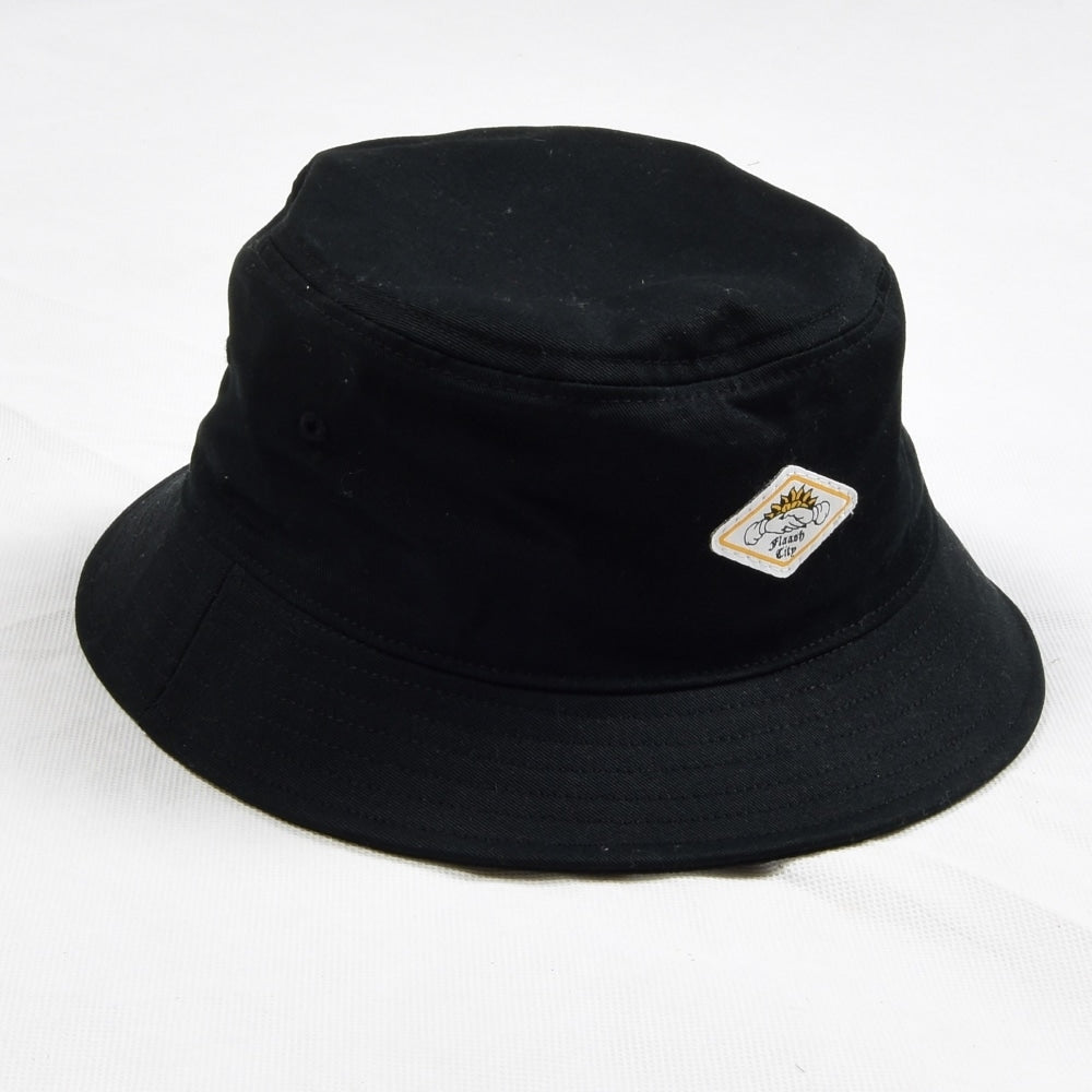 Flaash Apparel - Neighbour - Bucket Hat - Black - Hats - Fast Shipping