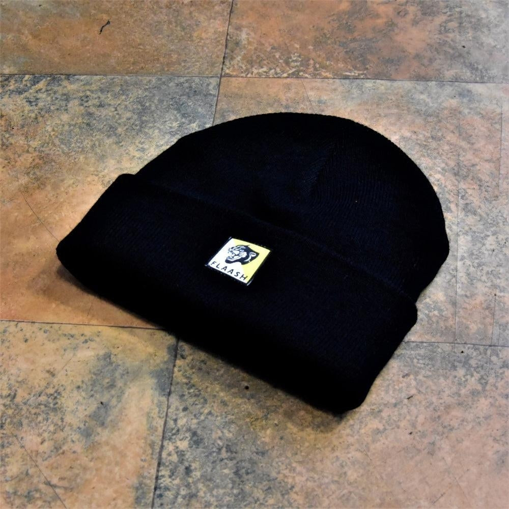 Flaash Apparel - Panther Beanie - Black - Hats - Fast Shipping