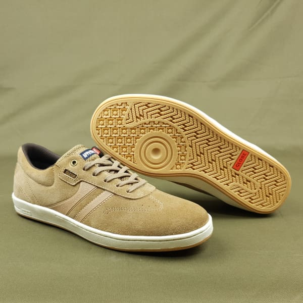 Globe Empire Skate Shoes Tobacco White Mark Appleyard Pro Colour Way. - Footwear - Fast Shipping