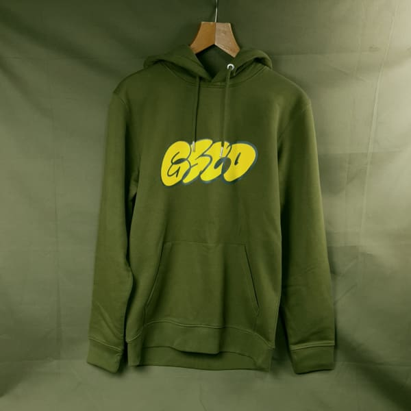 Grind Supply co Organic Dub Logo Hoodie - Apparel - Fast Shipping