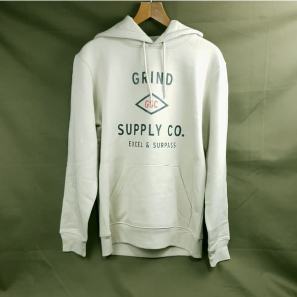 Grind Supply co Organic Utility Logo Hoodie - Grind Supply Co -[city]