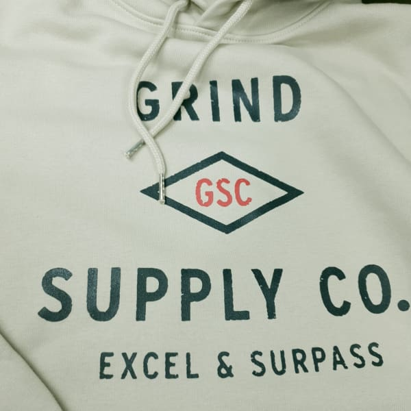 Grind Supply co Organic Utility Logo Hoodie - Apparel - Fast Shipping
