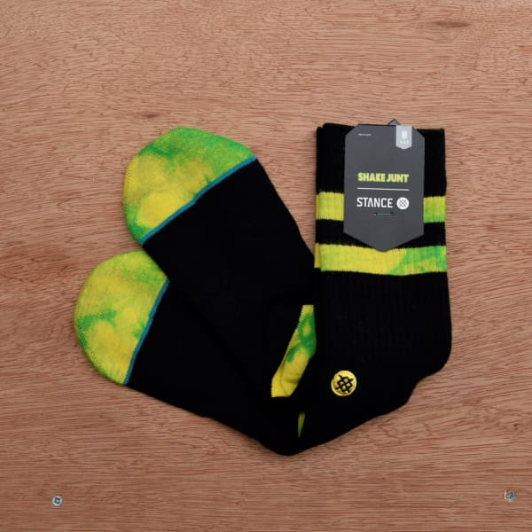 Stance Socks - Shake Junt - Shin Pad - Black - Grind Supply Co -[city]