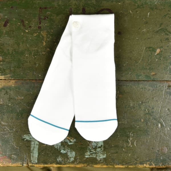Stance Uncommom Solids Socks - White - Grind Supply Co -[city]