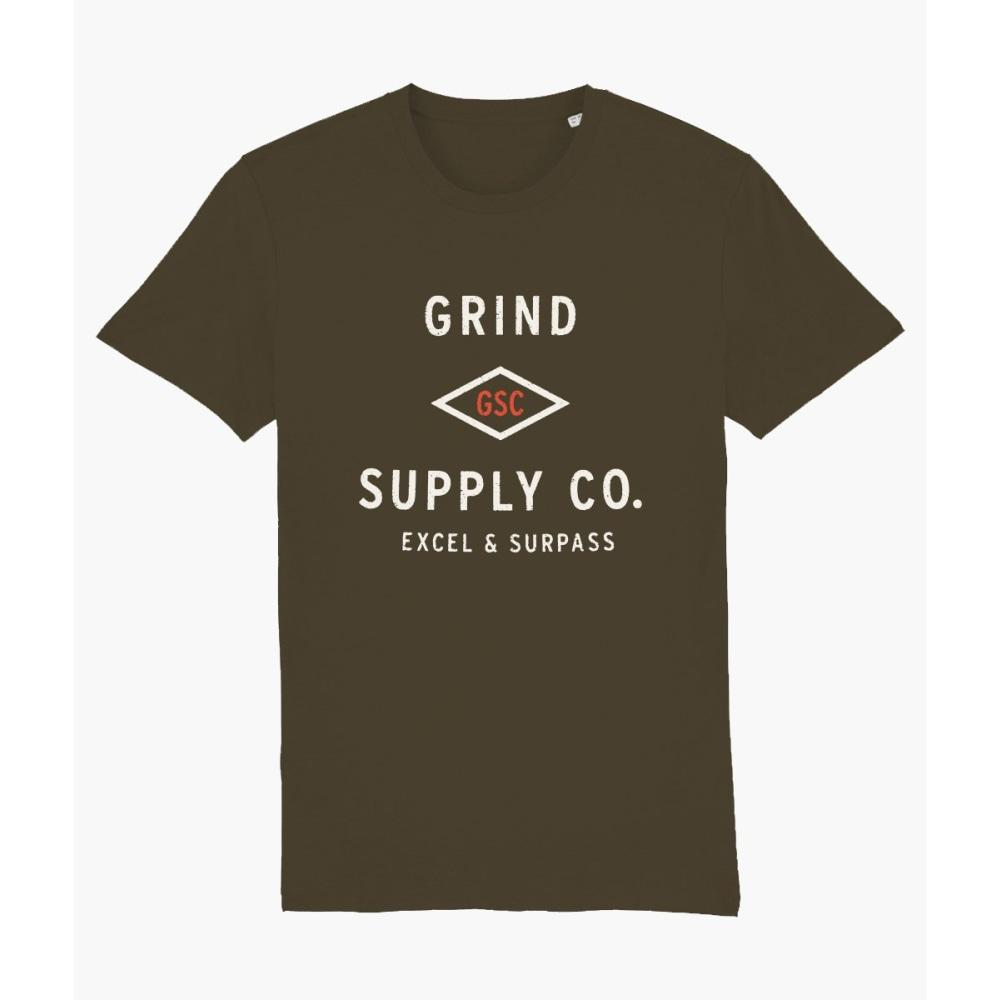 Utility Logo - Tee - Grind Supply co -!! Pre Order only - Fast Shipping