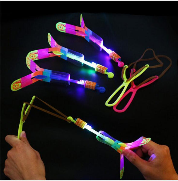 10pcs baby boys girls LED Arrow Rocket