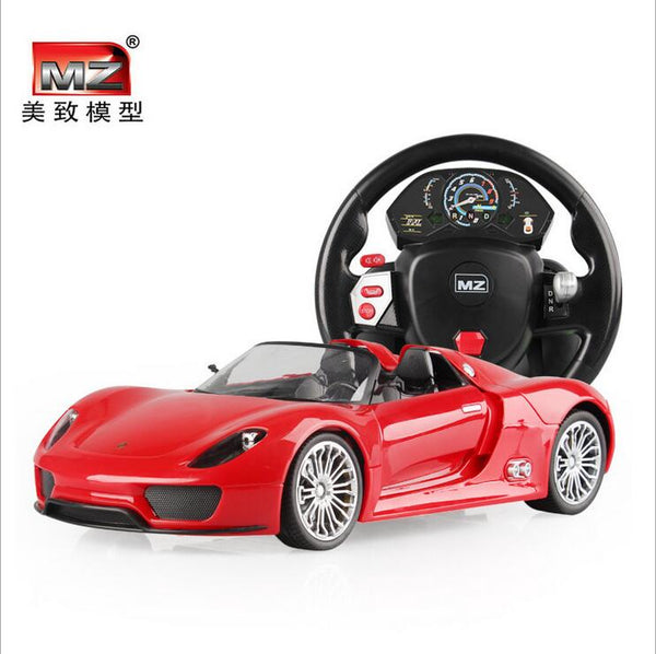 Remote control alloy car steering wheel