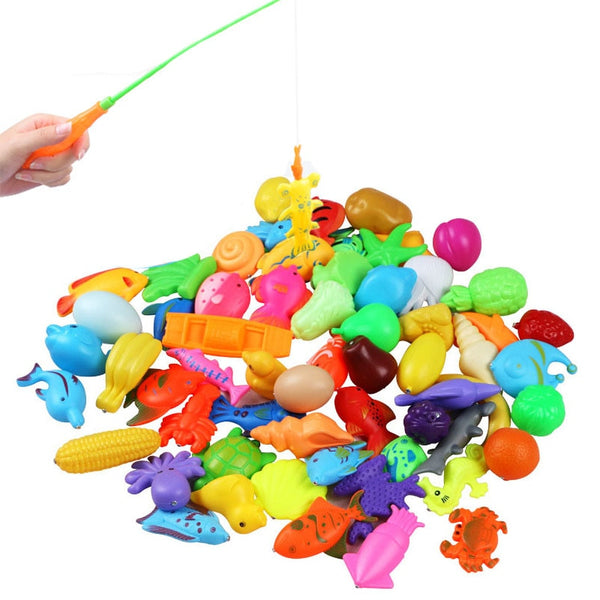 32pcs/lot Magnetic Fishing Toy