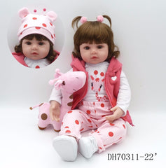 Silicone Reborn Baby Dolls Realista Fashion Doll