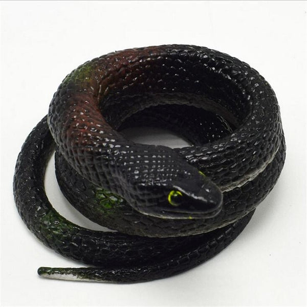 Reative gift Realistic Soft Rubber Toy Snake